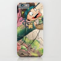 iPhone & iPod Case featuring Jungle kid. by Rachel Alderson