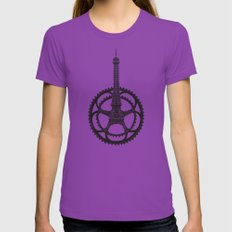 Le Tour de France Womens Fitted Tee Ultraviolet SMALL