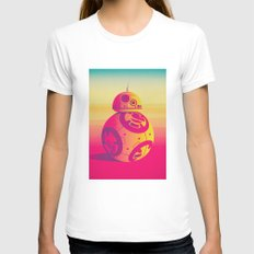 Droid Womens Fitted Tee White SMALL
