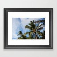 Blue Skies Framed Art Print