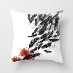 Another Long Fall Throw Pillow