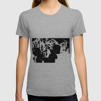 Cotton Club Smooch Womens Fitted Tee Athletic Grey SMALL