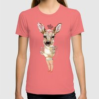 Bambi  Womens Fitted Tee Pomegranate SMALL