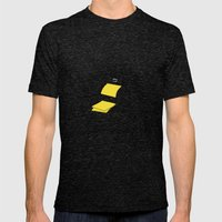 polaroid camera Mens Fitted Tee Tri-Black SMALL