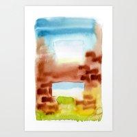 Ventanas Art Print