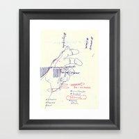 100 7  Framed Art Print