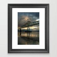 Astoria Bridge... Framed Art Print