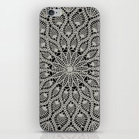 Delicate - Silver iPhone & iPod Skin