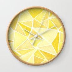 #37. ASHLEY - Triangles Wall Clock