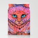 SUNSET CAT Stationery Cards
