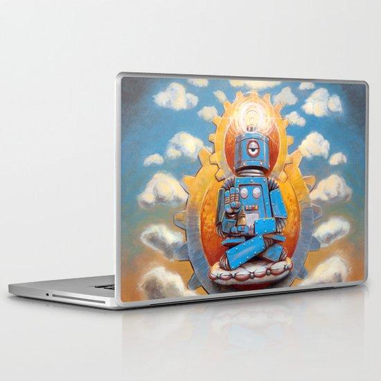 Buddha Bot v5  Laptop & iPad Skin