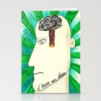 I have an idea Stationery Cards