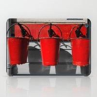 Fire Buckets iPad Case