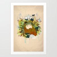 The Traveler Art Print