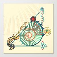 Sailing Infinity Canvas Print