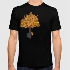 Tree of Knowledge Mens Fitted Tee Black SMALL