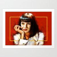 Mia Thurman Art Print