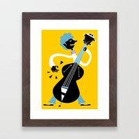 Bass Framed Art Print
