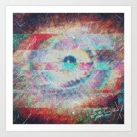 Soul Eye Art Print