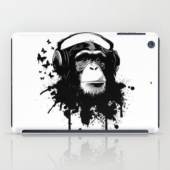 Monkey Business - White iPad Case