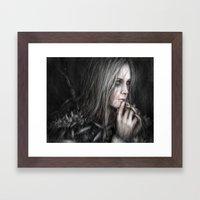 Thoughtful Vengeance  Framed Art Print