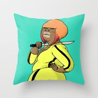 SJOKOLADE 11 Throw Pillow