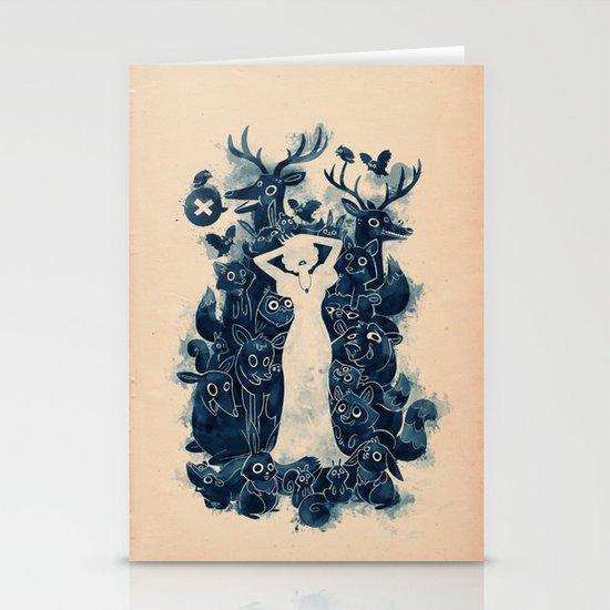 Dark Forest Stationery Card