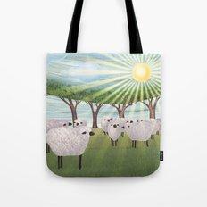 Sunshine Sheep Tote Bag