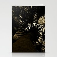 Palm Reaching To The Storm Stationery Cards