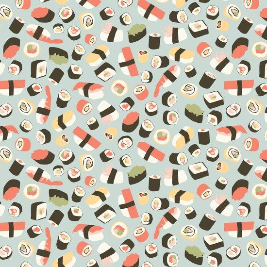 Yummy Sushi! Canvas Print