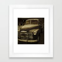 Souls Like the Wheels Framed Art Print