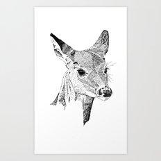 Deer Spirit Art Print