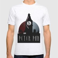 Peter Pan Mens Fitted Tee Ash Grey LARGE