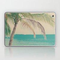 Coco Palm in the Beach  Laptop & iPad Skin