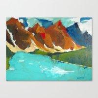 Moraine Lake, Alberta Canada Canvas Print