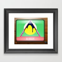Kaleidoscope TV version B Framed Art Print