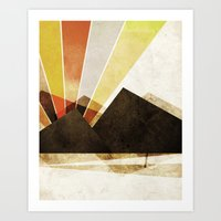Unclaimed Mountain #2 Art Print