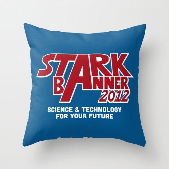 Stark Banner 2012 Throw Pillow