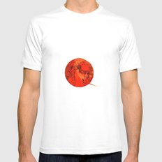 Giappone SMALL White Mens Fitted Tee