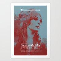 Fearless Vampire Killers… Art Print