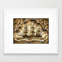 Sailing Winds Framed Art Print