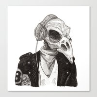 Sam Crow Canvas Print