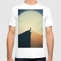 Lunatic Mens Fitted Tee White SMALL