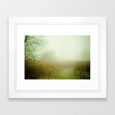 A Lovely Faded Memory of You Framed Art Print