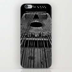 Ukelin Strings B&W iPhone & iPod Skin