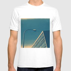 POP architecture  Mens Fitted Tee White SMALL