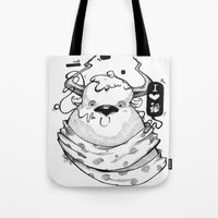 Little Lovely Reindeer Tote Bag