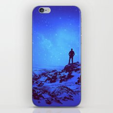 Lost the Moon While Counting Stars III iPhone & iPod Skin
