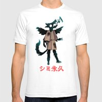 Shimi Towa Mens Fitted Tee White SMALL