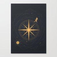 The Rising Moon Canvas Print